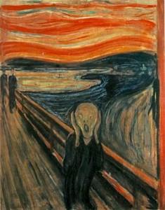 De Schreeuw. Edward Munch.